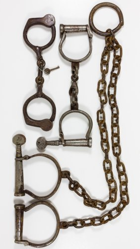 Handcuffs And Leg Irons