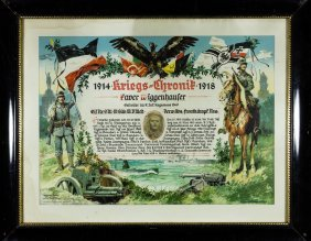 German Army Portraits And Lithographs