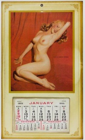 "Marilyn Monroe ""golden Dreams"" Calendar"