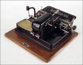 MIGNON MODEL 4 TYPEWRITER.
