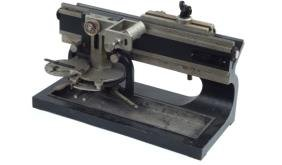 SLIDING MICROTOME BY BAUSCH & LOMB.