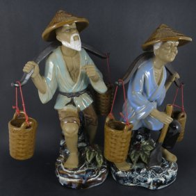 Two Chinese 1960s Porcelain Figures