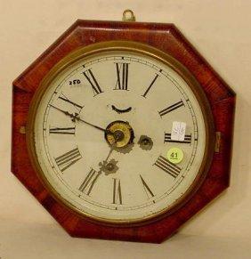 New Haven Octagon Hanging Clock NR