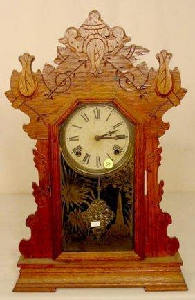Sessions Oak Parlor Clock NR