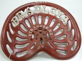 Cast Iron Bradleys Implement Seat