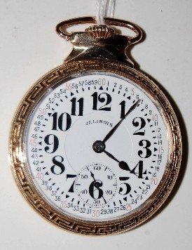 Illinois 23J 16S 60hr Bunn Special Pocket Watch