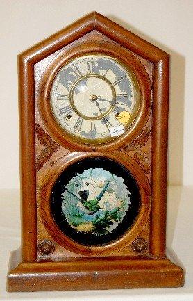 "Waterbury Rosewood ""Norman Extra"" Mantel Clock"