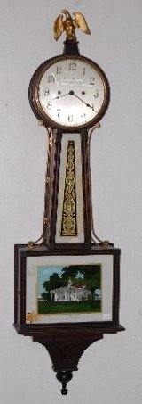 New Haven Willard Style Banjo Clock
