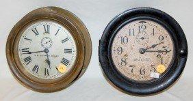 2 Seth Thomas Ship's Bell Clocks