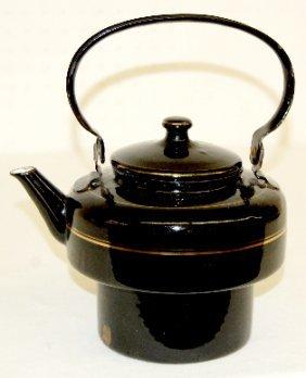 Granite Ware Teapot, Black