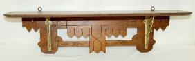 Victorian Eastlake Small Wall Shelf