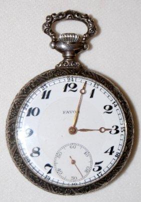 Favor 10J, 12S, OF, SW & S Pocket Watch