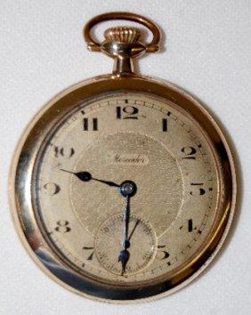 Mercador 7J, 12S, OF, SW & S Swiss Pocket Watch