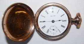 Waltham 15J, 18S Hunting Case Pocket Watch