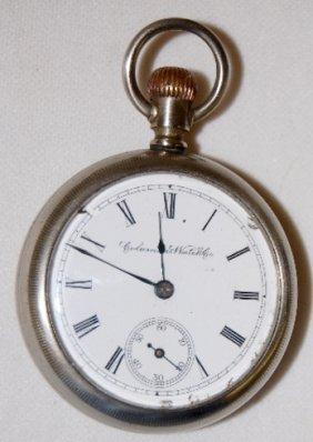 Columbus 15J, 18S, SW, LS, OF Pocket Watch