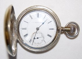 C.P. Barnes & Bro. Louisville, KY Pocket Watch
