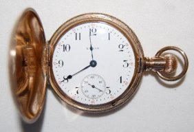 Elgin 7J, 18S, SW, Hunting Case Pocket Watch