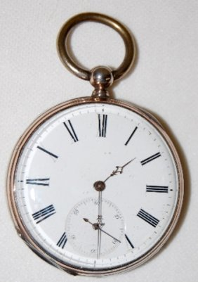 Swiss 44 MM, 15 Rubis, KW/KS, OF Pocket Watch