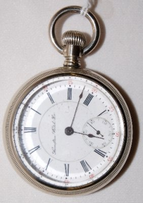 Hamilton 17J, 18S, LS, Full, OF Pocket Watch