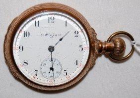 Elgin 15J, 18S, LS, Full, OF Pocket Watch
