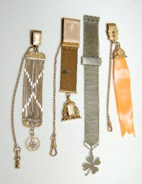 4 Safety Chain Style Watch Chains