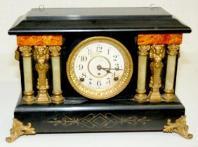 Fancy Seth Thomas Antique Mantel Clock