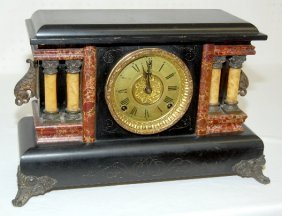 Sessions Fancy Antique Mantel Clock