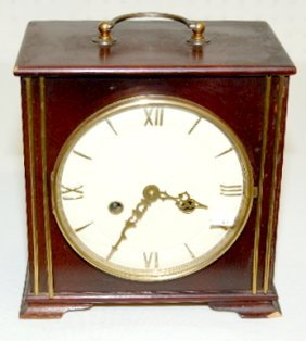 German 2J Chiming Mantel Clock