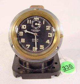 EBOSELLI Milano Car Clock; Roma, (Italy) OMT NR
