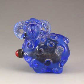 China Beijing / Peking Glass Snuff Bottle