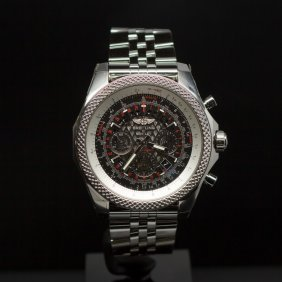 Breitling Bentley Gmt 49mm Stainless Steel Men's