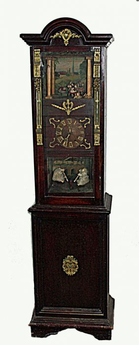 Automated Clock With Wooden Works