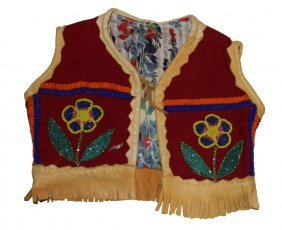Child's Vest - Native American Styled