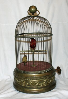 Singing Birds In Cage