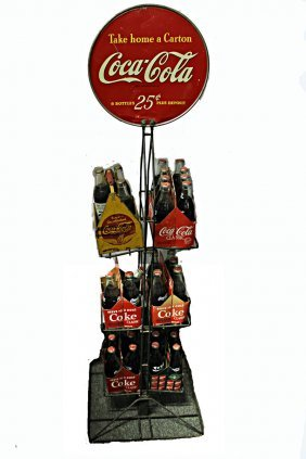 Coke Stand For Six Packs