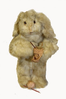 Automated Knitting Bunny
