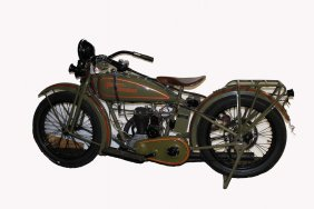 1927 Harley Davidson Model B Single