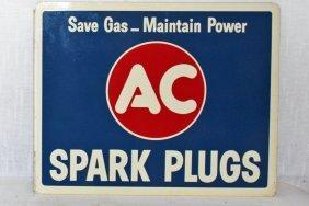 Flange Sign - Ac Spark Plugs