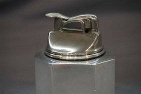 Tiffany & Co. Sterling Silver Cigarette Table Lighter