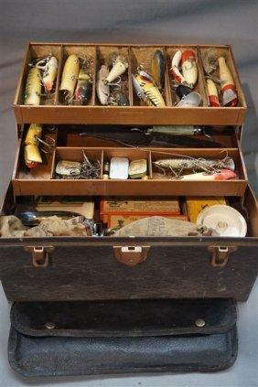 Estate Found Fishing Box Lures & Reels