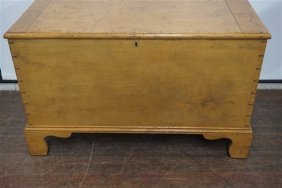 19th Century Dovetailed Blanket Chest