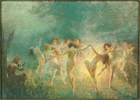 Joseph Tomanek (american, 1889-1974) Dance Of The Hour.