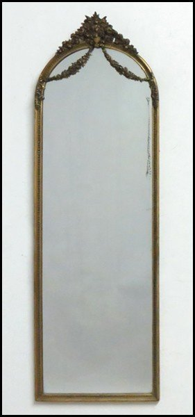 GILTWOOD AND GESSO MIRROR.