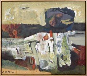 BIMAL DAS GUPTA (BENGAL, 1917-1995) UNTITLED.
