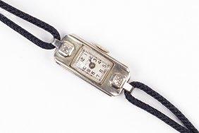 An Art Deco Waltham Lady's Dress Watch.