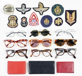 A Collection Of Men's Accessories.