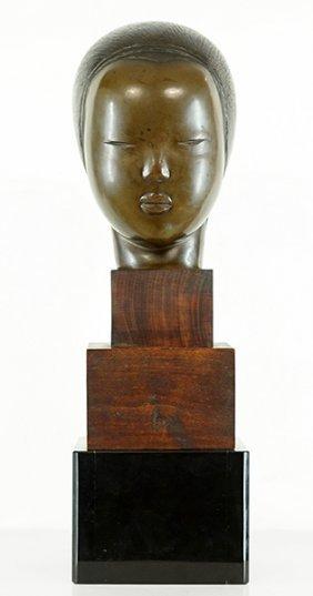 Irina Codreanu (romanian/french, 1896-1984) Bust Of A