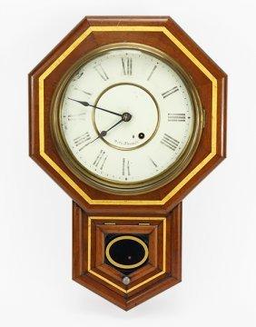 A Seth Thomas Wall Clock.