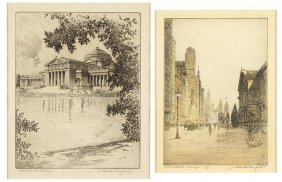S. Chester Danforth (american, B. 1896) 'art Institute