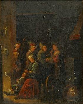Artist Unknown (continental, 19th Century) Interior